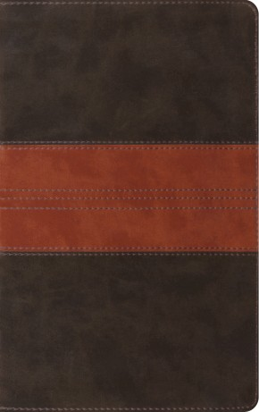ESV Thinline Reference Bible (TruTone, Forest/Tan, Trail Design) *Scratch & Dent*