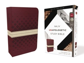 NKJV, Unapologetic Study Bible, Leathersoft, Red/Tan, Red Letter Edition: Confidence for Such a Time As This