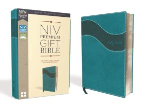 NIV, Premium Gift Bible, Leathersoft, Teal, Red Letter Edition, Thumb Indexed, Comfort Print: The Perfect Bible for Any Gift-Giving Occasion