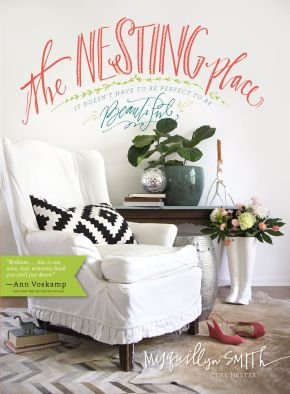 The Nesting Place: It Doesn't Have to Be Perfect to Be Beautiful *Scratch & Dent*