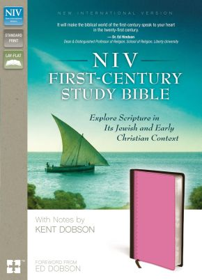NIV, First-Century Study Bible, Leathersoft, Brown/Pink: Explore Scripture in Its Jewish and Early Christian Context
