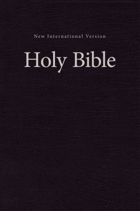 NIV, Value Pew and Worship Bible, Hardcover, Black *Scratch & Dent*