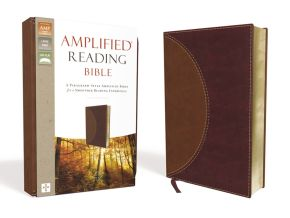 Amplified Reading Bible, Leathersoft, Brown: A Paragraph-Style Amplified Bible for a Smoother Reading Experience