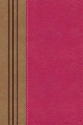 NIV, Biblical Theology Study Bible, Leathersoft, Pink/Brown, Indexed, Comfort Print: Follow God's Redemptive Plan as It Unfolds throughout Scripture