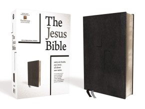 The Jesus Bible, NIV Edition, Leathersoft, Black, Comfort Print