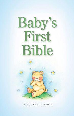 KJV, Baby's First Bible, Hardcover, Blue *Scratch & Dent*