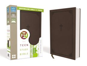NIV, Teen Study Bible, Compact, Leathersoft, Brown