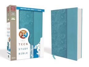 NKJV, Teen Study Bible, Leathersoft, Blue