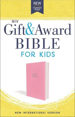 NIV, Gift and Award Bible for Kids, Flexcover, Pink, Comfort Print *Scratch & Dent*