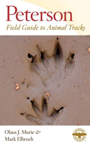 Peterson Field Guide to Animal Tracks: Third Edition (Peterson Field Guides) *Scratch & Dent*