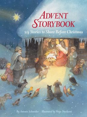 Advent Storybook: 24 Stories to Share Before Christmas *Scratch & Dent*