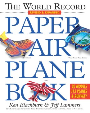 The World Record Paper Airplane Book *Scratch & Dent*