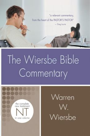 Wiersbe Bible Commentary NT (Wiersbe Bible Commentaries) *Scratch & Dent*