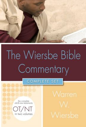 Wiersbe Bible Commentary 2 Vol Set (Wiersbe Bible Commentaries)