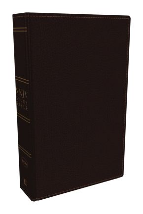 NKJV Study Bible, Premium Bonded Leather, Burgundy, Comfort Print: The Complete Resource for Studying God's Word
