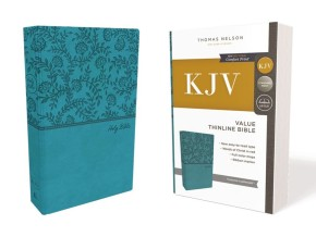 KJV, Value Thinline Bible, Leathersoft, Green, Red Letter Edition, Comfort Print: Holy Bible, King James Version