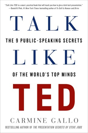 Talk Like TED: The 9 Public-Speaking Secrets of the World's Top Minds *Scratch & Dent*