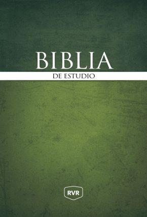 Santa Biblia de Estudio Reina Valera Revisada RVR, Tapa Dura (Spanish Edition)