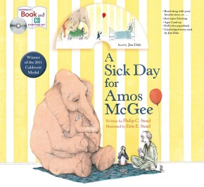 A Sick Day for Amos McGee: Book & CD Storytime Set (Macmillan Young Listeners Story Time Sets) *Scratch & Dent*