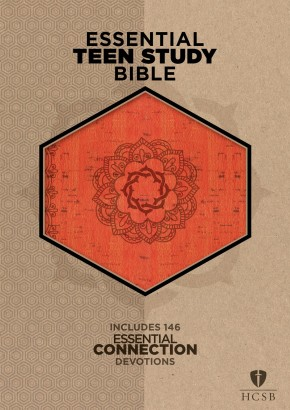 The HCSB Essential Teen Study Bible, Orange Cork LeatherTouch