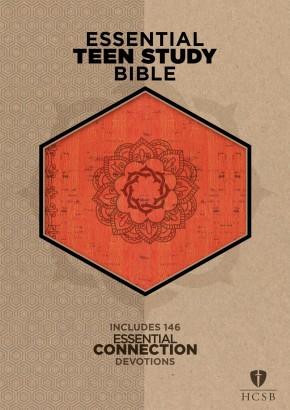 The HCSB Essential Teen Study Bible, Orange Cork LeatherTouch
