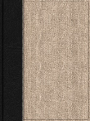 Apologetics Study Bible for Students, Black/Tan Cloth, Indexed