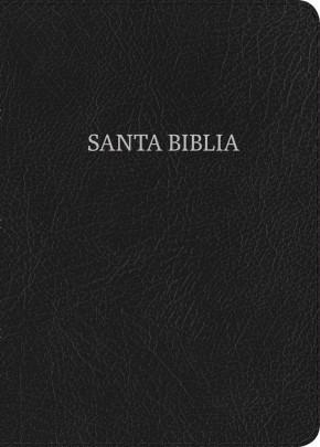 NVI Biblia Letra Grande Tamaño Manual negro, piel fabricada (Spanish Edition)