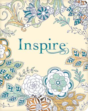 Tyndale NLT Inspire Bible (Softcover, Aquamarine)