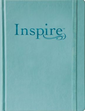 Tyndale NLT Inspire Bible (Large Print, Hardcover, Tranquil Blue)