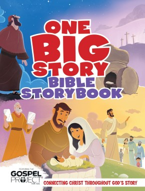 One Big Story Bible Storybook, Hardcover: Connecting Christ Throughout God's Story *Scratch & Dent*