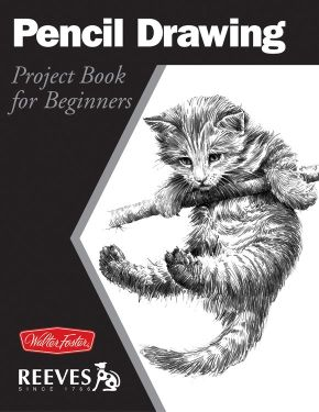 Pencil Drawing: Project book for beginners (WF /Reeves Getting Started) *Scratch & Dent*