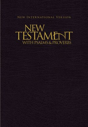 NIV, New Testament with Psalms and   Proverbs, Pocket-Sized, Paperback, Black *Scratch & Dent*