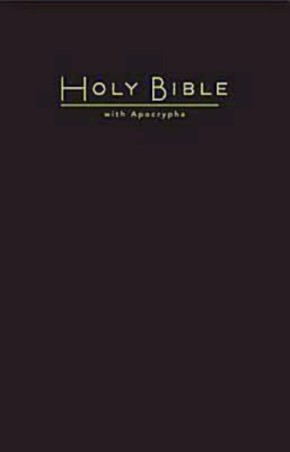 CEB Common English Pew Bible with Apocrypha Black