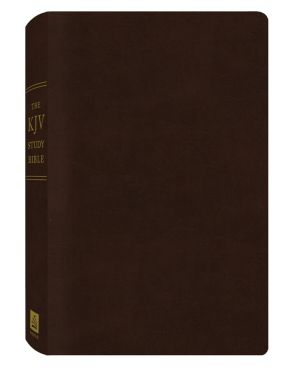 The KJV Study Bible (Bonded Leather) (King James Bible) *Scratch & Dent*