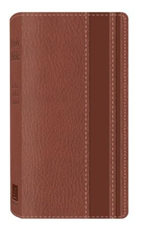 Holy Bible: King James Version DiCarta Brown Vest Pocket Bible (King James Bible)