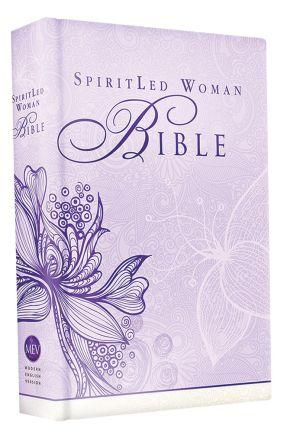 MEV Bible SpiritLed Woman Lavender Casebound: Modern English Version