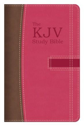 The KJV Study Bible Handy Size (Pink/Brown) (King James Bible)