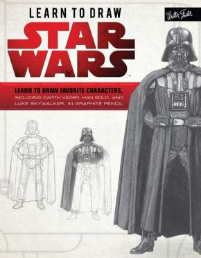 Learn to Draw Star Wars: Learn to draw favorite characters, including Darth Vader, Han Solo, and Luke Skywalker, in graphite pencil (Licensed Learn to Draw) *Scratch & Dent*
