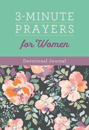 3-Minute Prayers for Women Devotional Journal