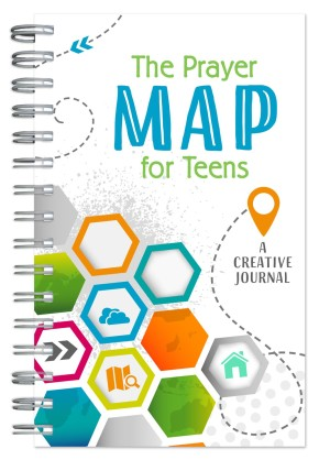 The Prayer Map for Teens: A Creative Journal (Faith Maps)