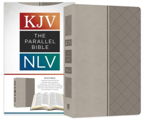 The KJV NLV Parallel Bible [Pewter] *Scratch & Dent*