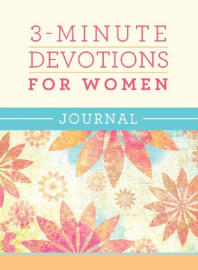 3-Minute Devotions for Women Journal *Scratch & Dent*