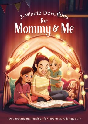 3-Minute Devotions for Mommy and Me: Encouraging Readings for Parents and Kids Ages 3-7 *Scratch & Dent*