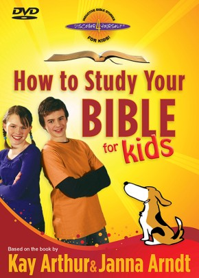 How to Study Your Bible for Kids DVD *Scratch & Dent*