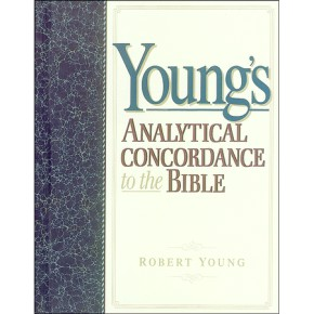 Young's Analytical Concordance to the Bible *Scratch & Dent*