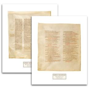 Codex Sinaiticus: Facsimile Prints (Ancient Greek Edition)