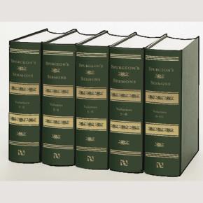 Spurgeon's Sermons, 5 Volumes *Scratch & Dent*