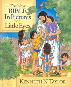 The New Bible in Pictures for Little Eyes *Scratch & Dent*