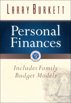 Personal Finances (Burkett Financial Booklets)