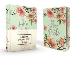 NIV, Artisan Collection Bible, Cloth over Board Comfort Print *Scratch & Dent*